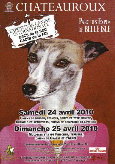 Exposition Canine de Châteauroux 2010